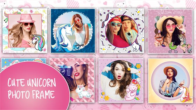 Unicorn Photo Frames slider4