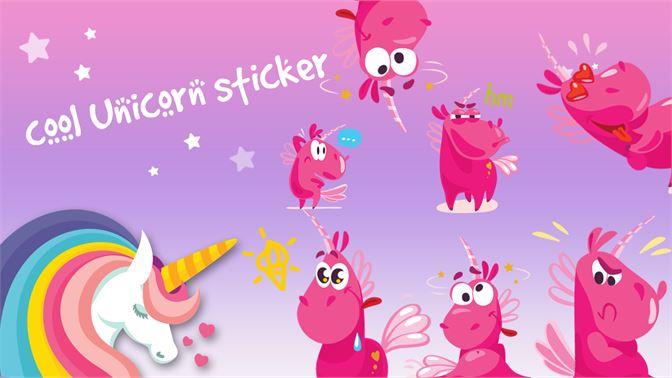 Unicorn Stickers slider2