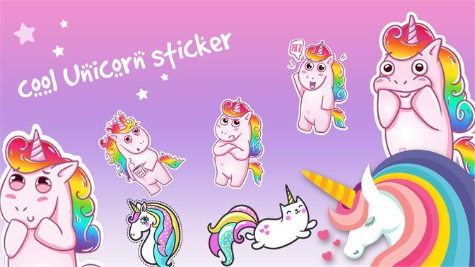 Unicorn Stickers slider3