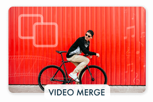How to merge video