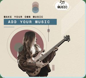 How To Add Music Using Slideshow Music Video Maker